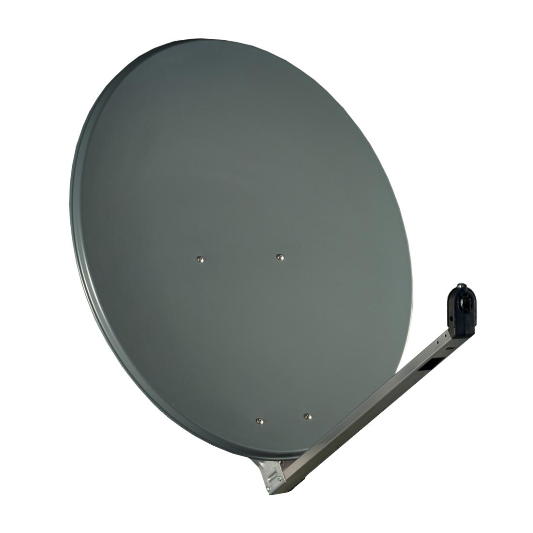 gibertini sat antenne 100 cm alu satellitensch ssel sat sch ssel spiegel anthr. Black Bedroom Furniture Sets. Home Design Ideas