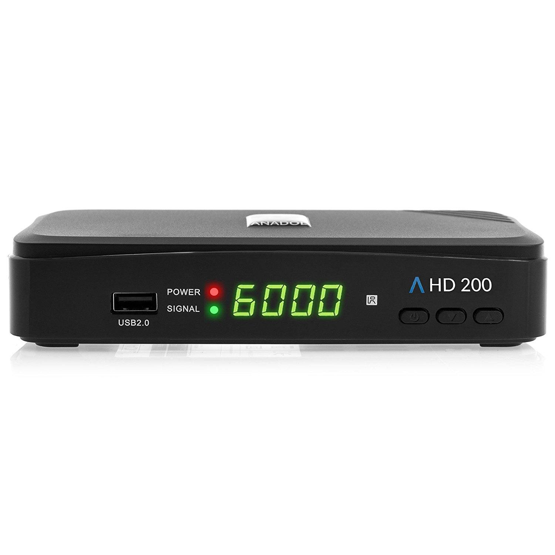 anadol hd 200 full hd sat fta receiver hdmi 1080p scart. Black Bedroom Furniture Sets. Home Design Ideas