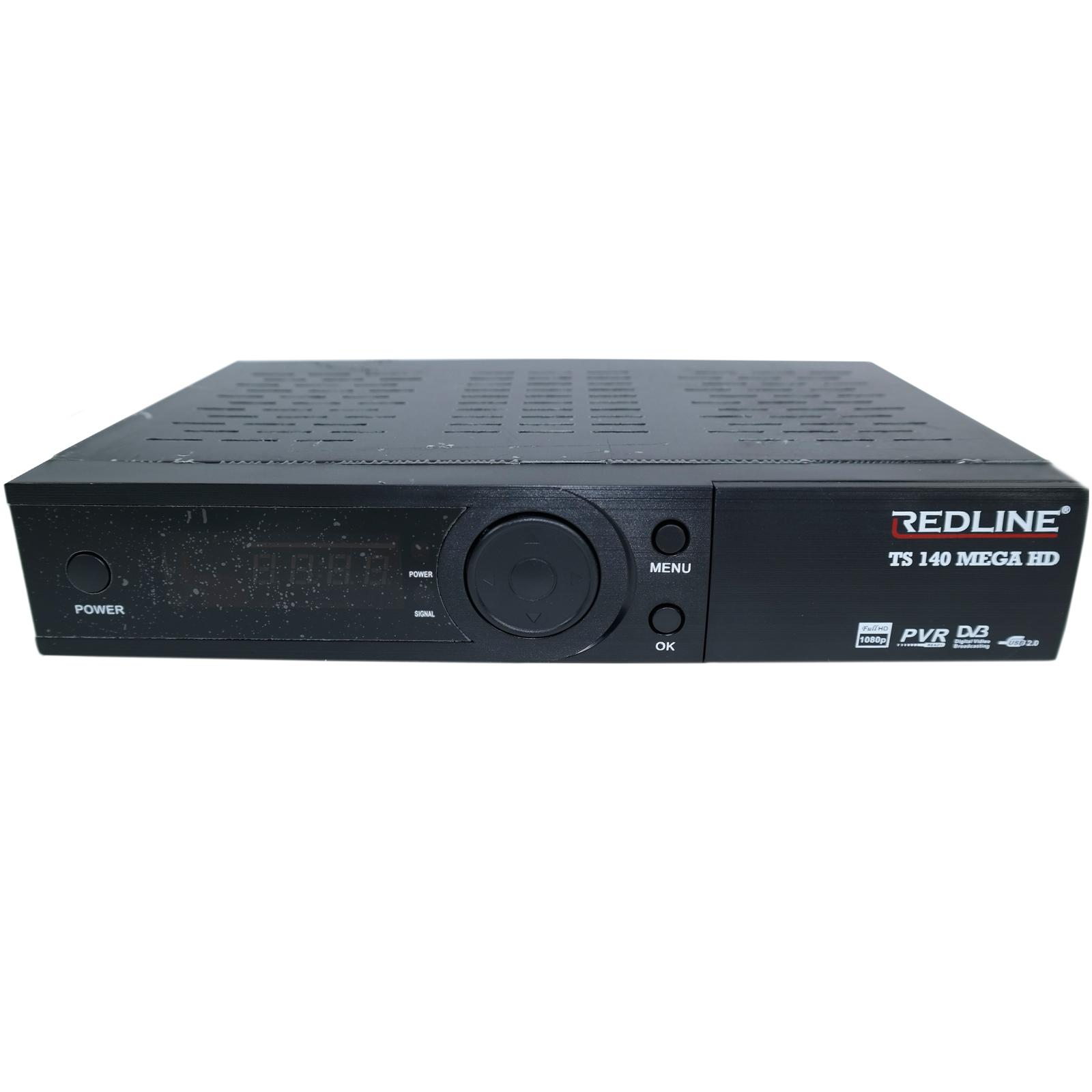 Redline Ts 140 Mega Hd Plus Full Hd Sat Fta Usb Receiver