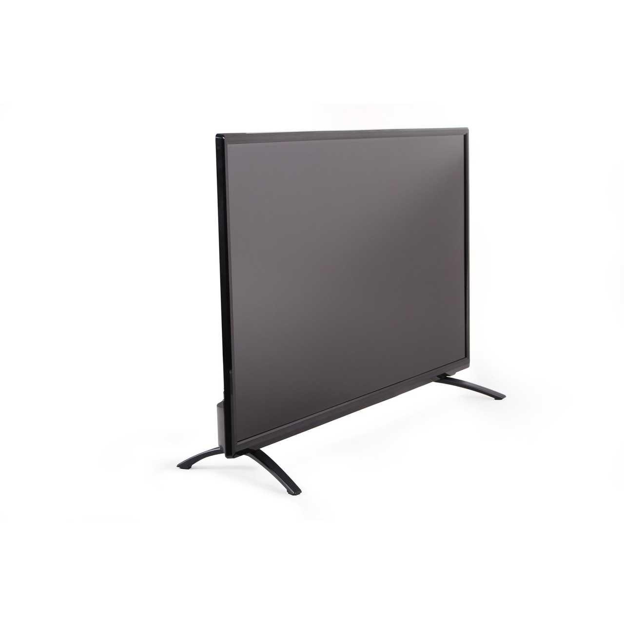 Opticum LED TV 40 Zoll Full HD CI+ DVB-S2/T2/C H.265 HEVC Fernseher Schwarz LEDOPT004