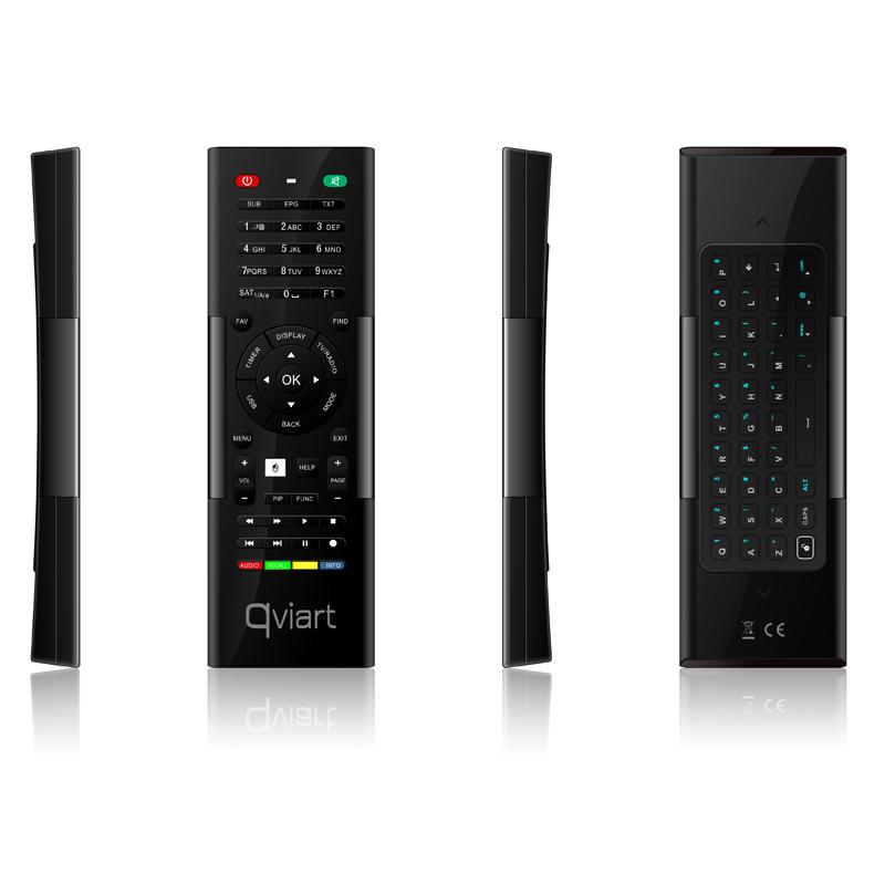 qviart Wireless Motion Fernbedienung mit Tastatur für UNDRO QVIZUB001