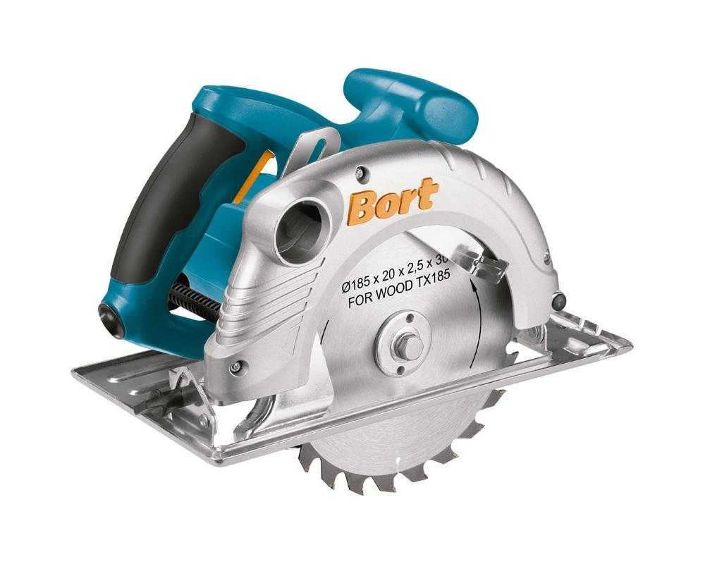 Bort BHK-185U Handkreissäge 1500 Watt + 185mm Sägeblatt HEIMHKR003