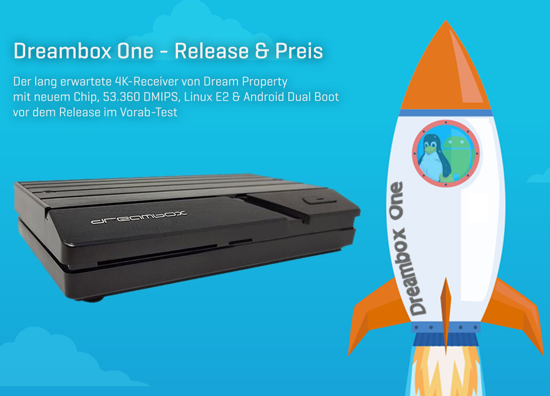 Dreambox One im Test → Dual Boot, 53 360 DMIPS & Neuer Chip