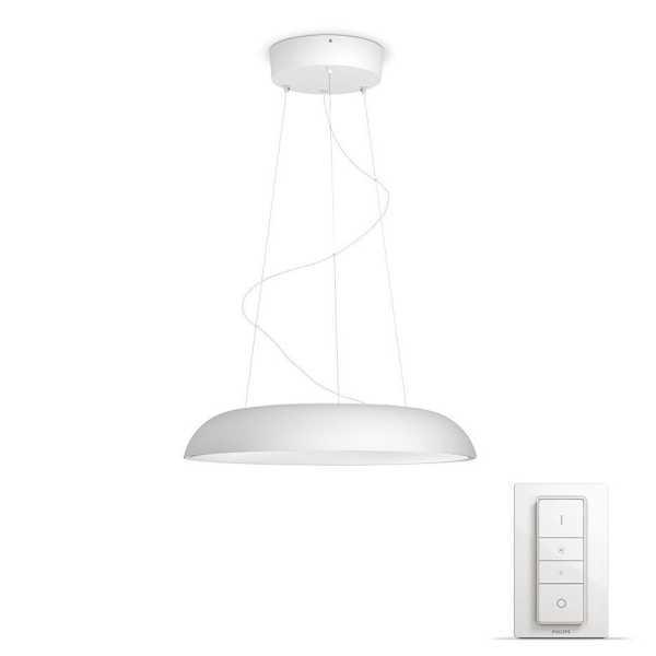 Hue Amaze LED Pendelleuchte inkl. Dimm-Schalter, steuerbar per App Weiß