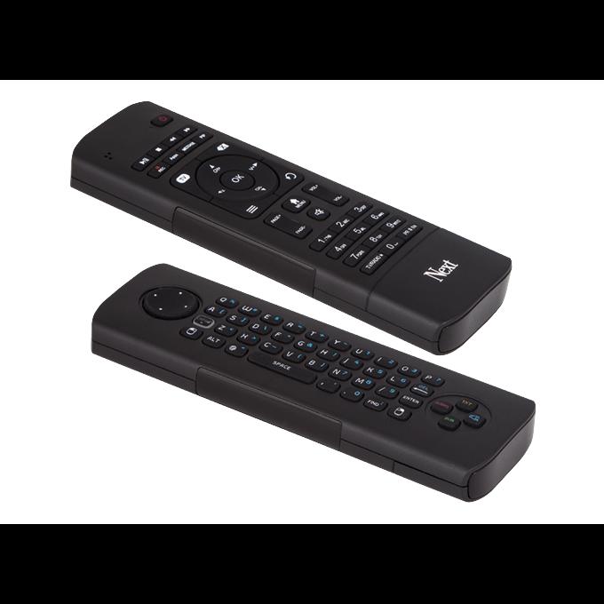 Wireless Motion Fernbedienung mit Tastatur für Next Receiver ZUBFER151