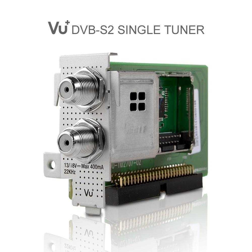 VU+ DVB-S2 Single Duo2 / Ultimo / Solo SE /Solo 4K Sat Tuner RECVUP-007