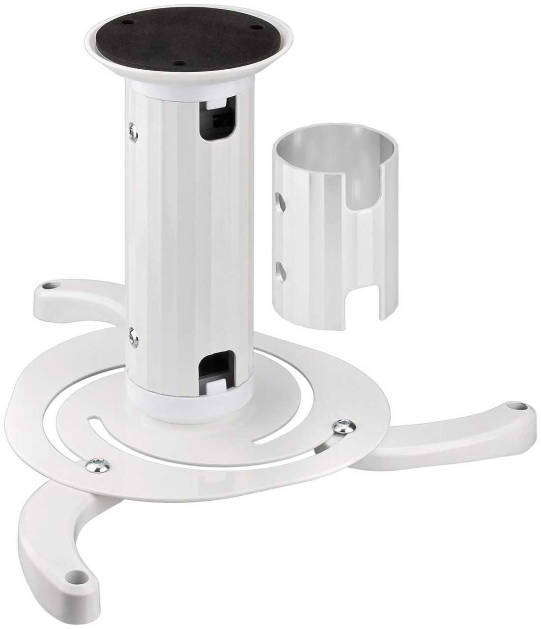 Deckenhalterung Goobay Beamerflex variabel für Beamer Weiß HOMWAN-052