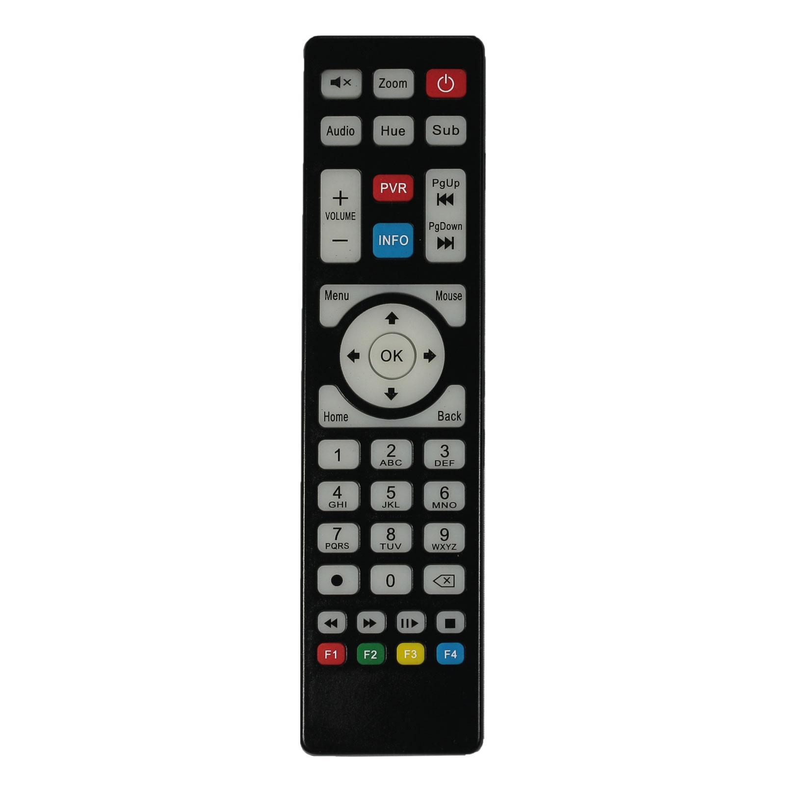 Maxytec Original Remote Control for Maxytec IPTV Boxes Hornet Gold Infinity  Titanium Phoenix Black