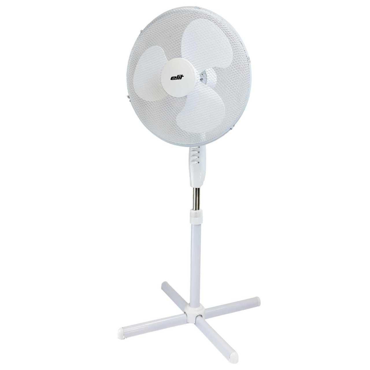 2x Standventilator Windmaschine 90° oszillierend Lüfter Ventilator 45W Ø40cm