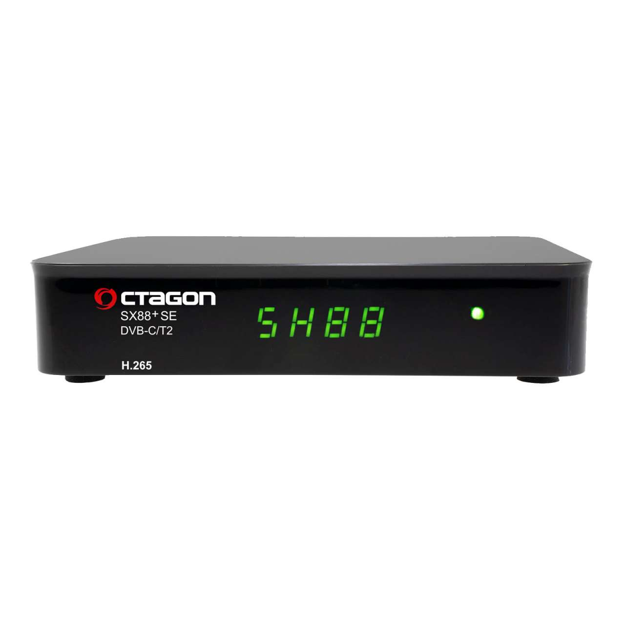 Octagon SX88+ SE H.265 HD Full HD DVB-C/T2 Hybrid Tuner+TV IP Receiver RECOCT108