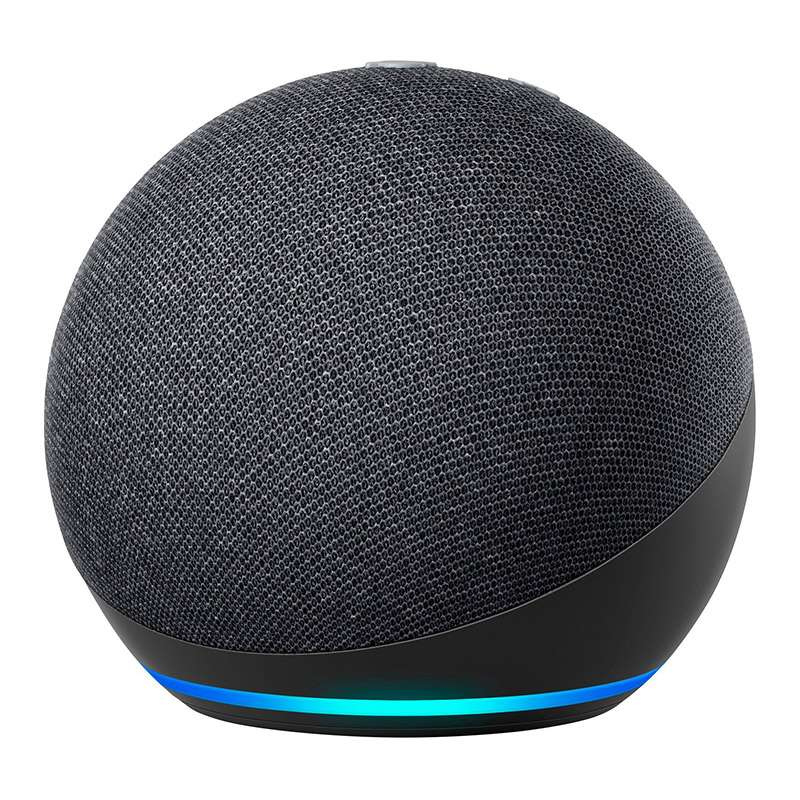Amazon Echo Dot 4. Generation intelligenter Lautsprecher mit Alexa Anthrazit AMAECHO07