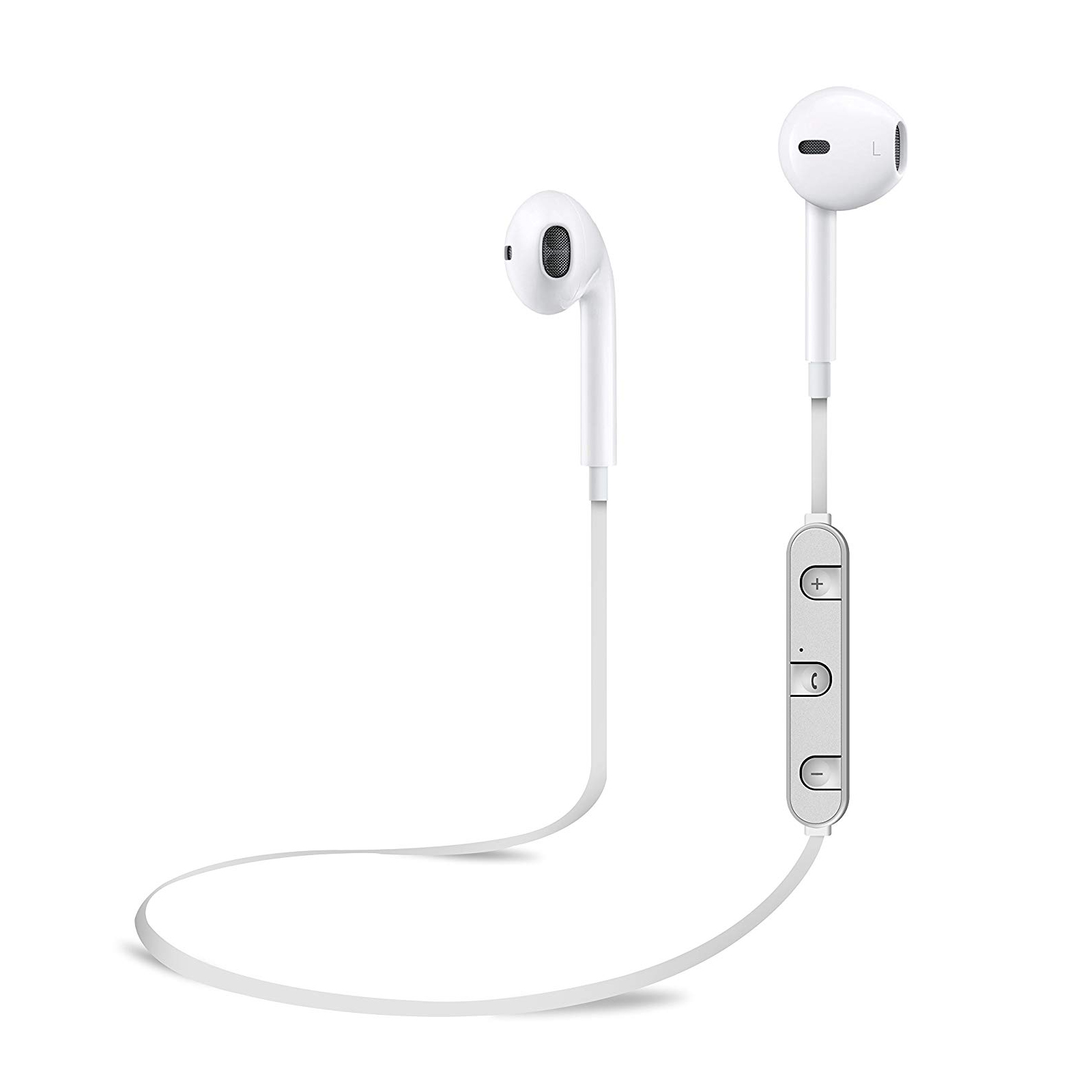 veova bt 5000 bluetooth in ear kopfh rer wei ios android. Black Bedroom Furniture Sets. Home Design Ideas