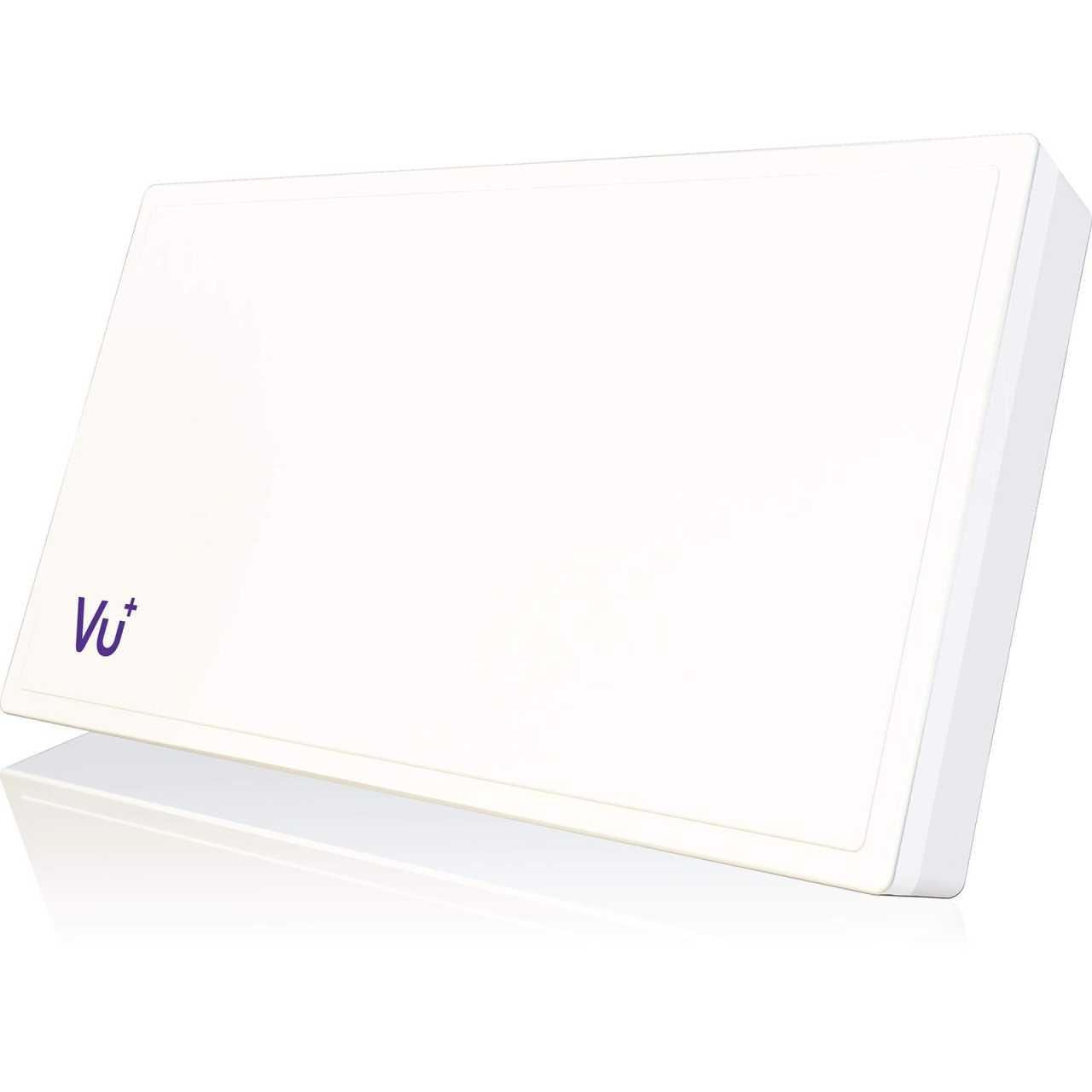 VU+ Selfsat H38D1 Flachantenne Single inkl. Fensterhalterung ANTVU01