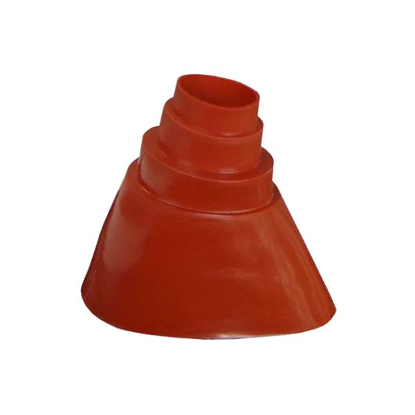 Gummimanschette für Dachabdeckung Rot 38-60 mm