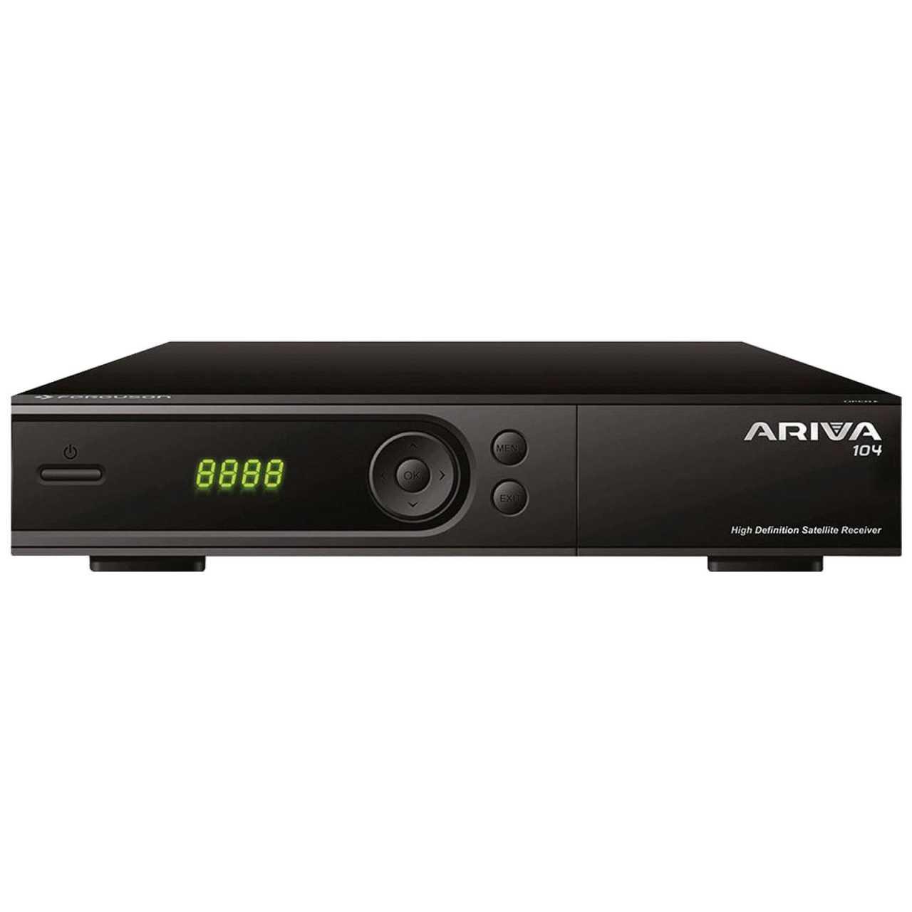 Ferguson Ariva 104 Full HD H.265 USB LAN Sat Receiver RECFER067