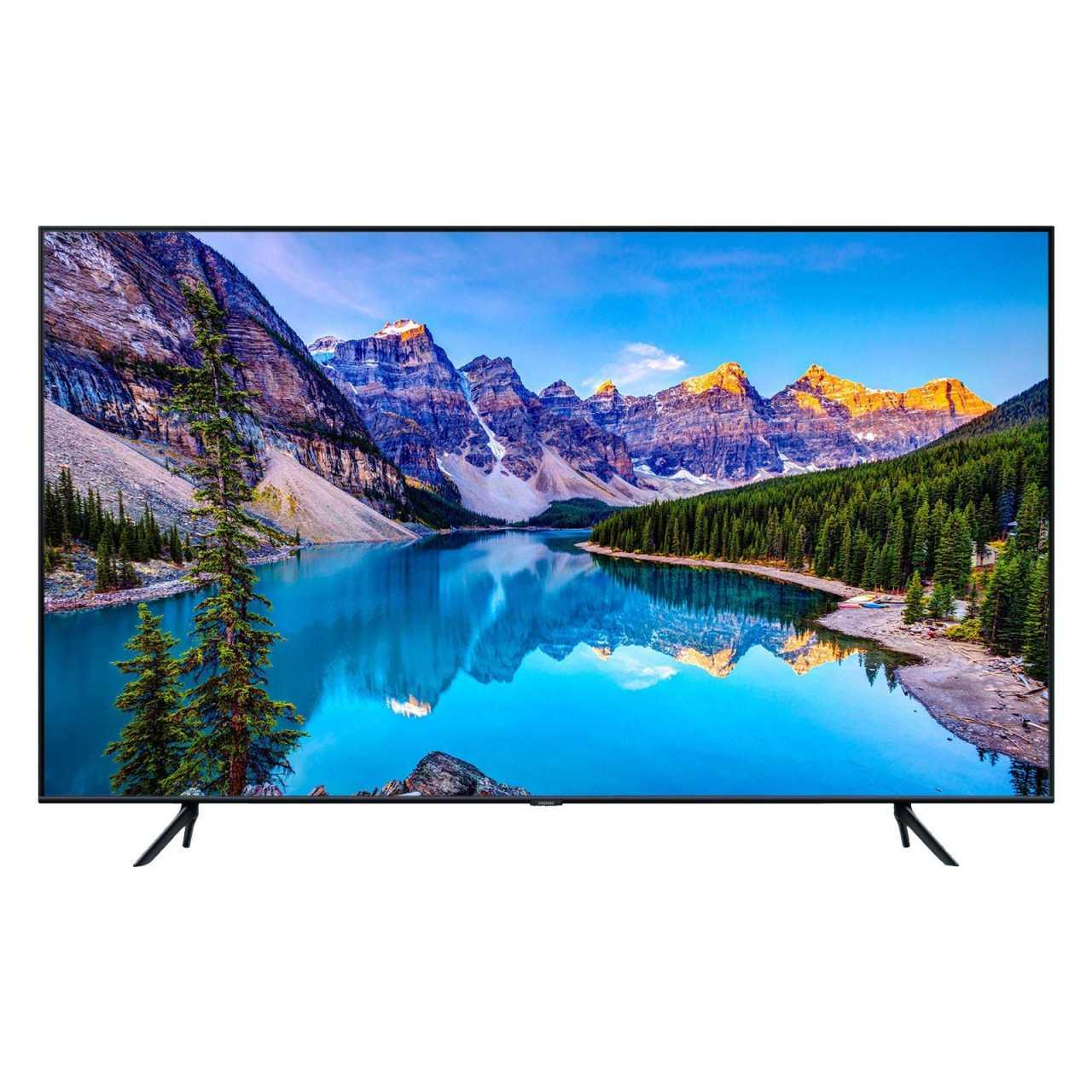Samsung 50Q60T 50 Zoll 125cm 4K Ultra HD 3100 PQI Flat QLED Smart TV Triple Tuner, Schwarz LED50Q60T