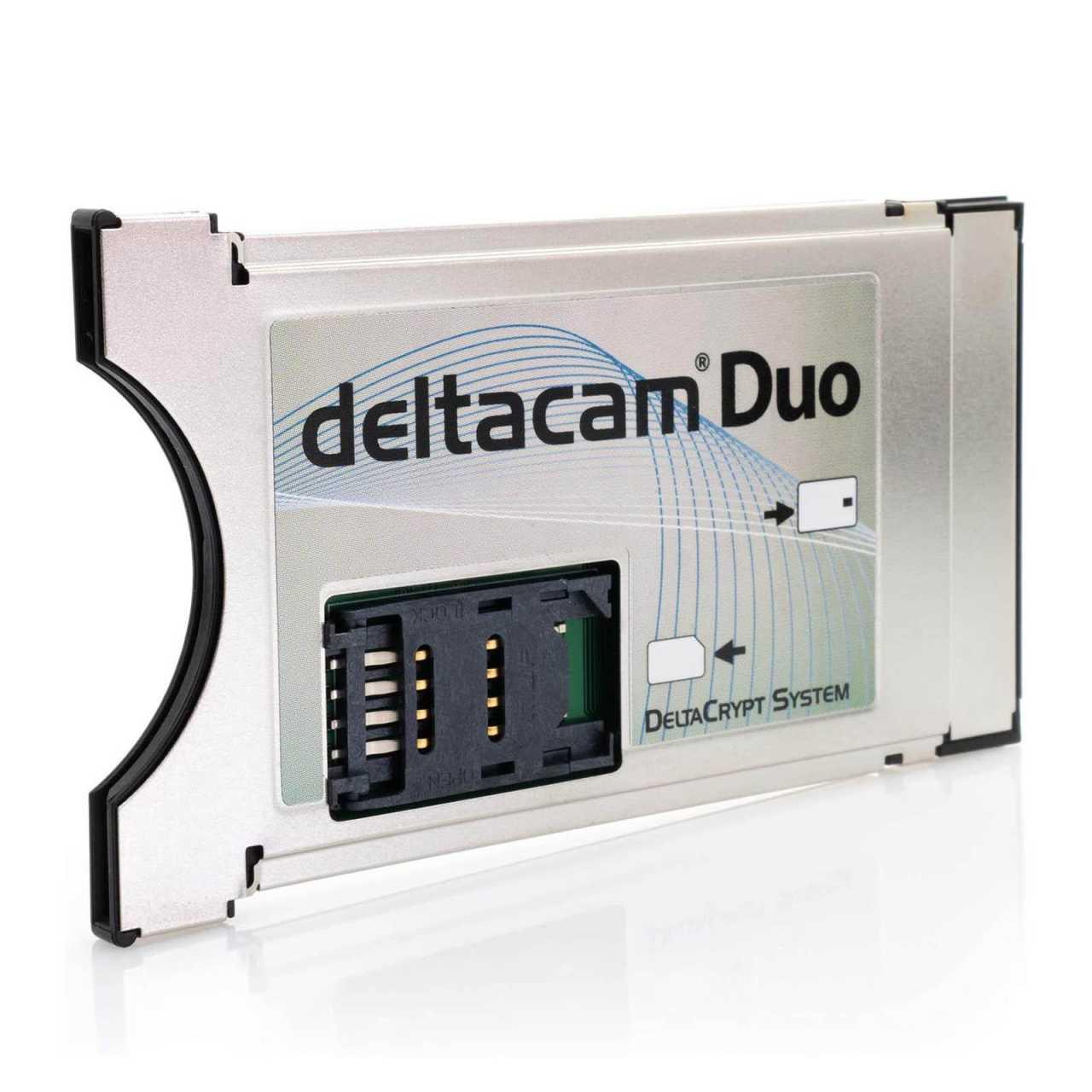 Deltacam Duo Twin CI Modul mit DeltaCrypt-Verschlüsselung 3.0 - Neue Hardware ZUBCIM069