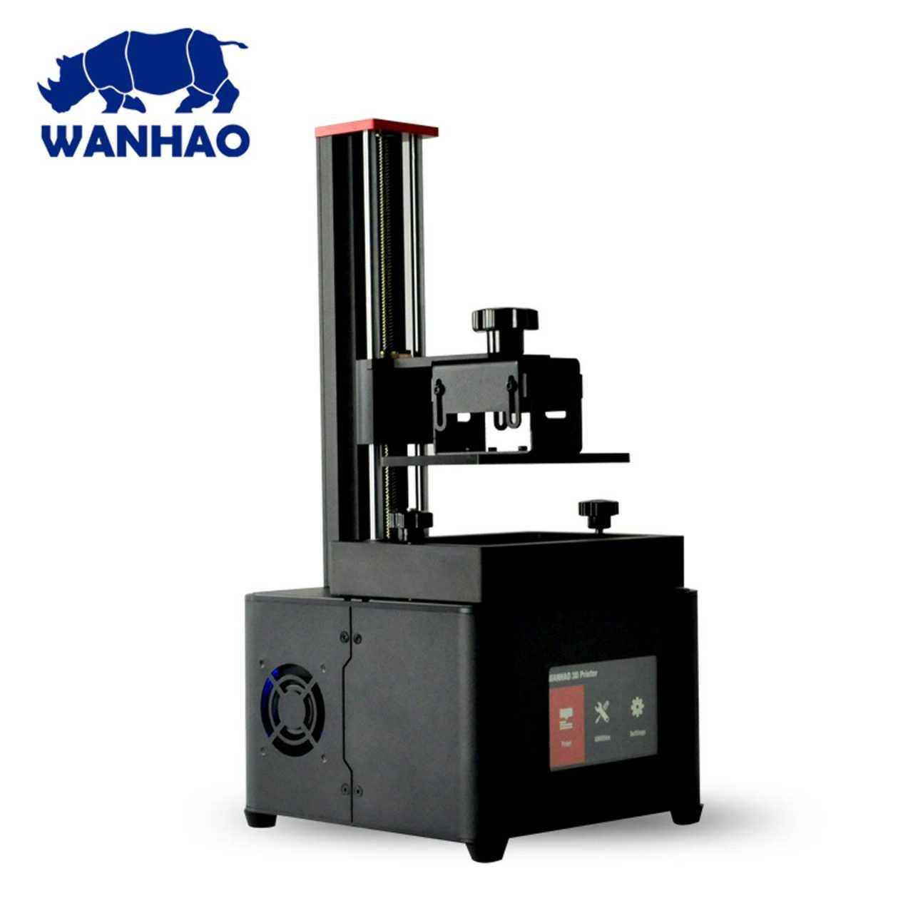 Wanhao Duplicator 7 Plus Resin DLP 3D Drucker 121x68x180mm USB WLAN DRUWAN08