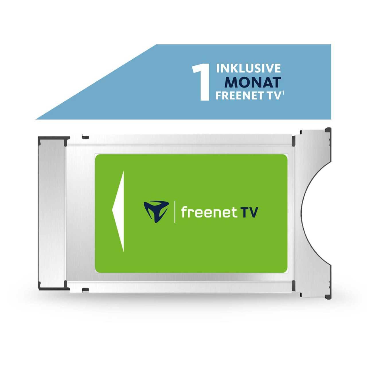 Freenet TV HD CI+ Modul für DVB-T2 HD inkl. 1 Monat Freenet TV Gratis ABOFRETV5