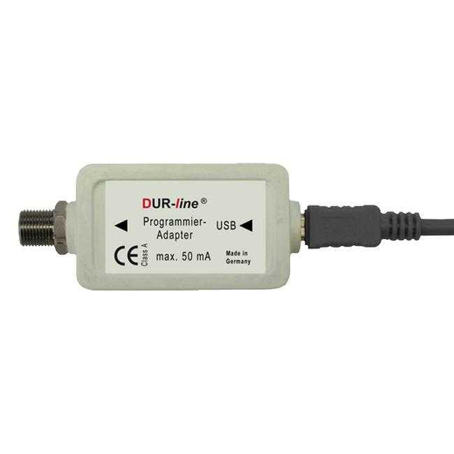 Dur-Line Programmieradapter für programmierbare Unicable Antennendosen MONUNI005