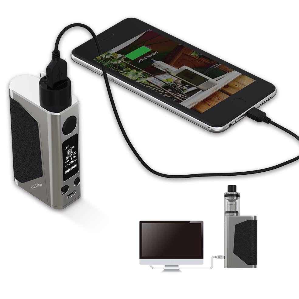 Joyetech E-Zigarette eVic Primo 200 Watt mit Unimax 25 Atomizer Starter Kit Silber EZIGJOY5