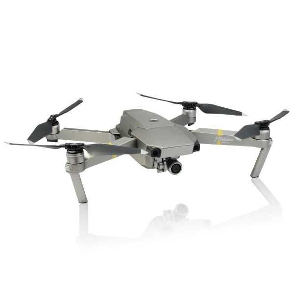 Mavic Pro Platinum 4K UHD 12 Megapixel - Quadrokopter Drohne Grausilber