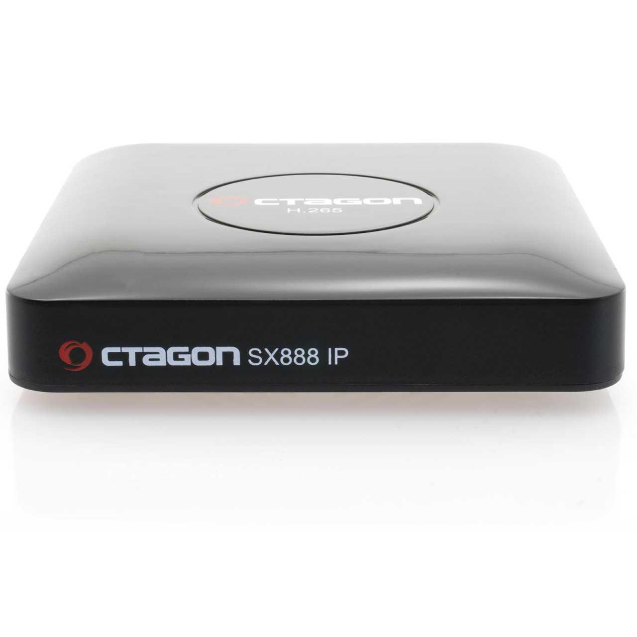 Octagon SX888 IP HEVC Full HD LAN USB H.265 TV IP m3u VOD Multimedia Box Wlan Stick RECOCT093