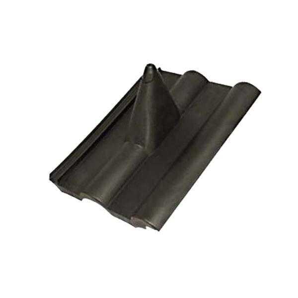 A.S.SAT Dachpfanne Dachziegel PVC Abdeckung Frankfurter Schwarz MONWAN-012