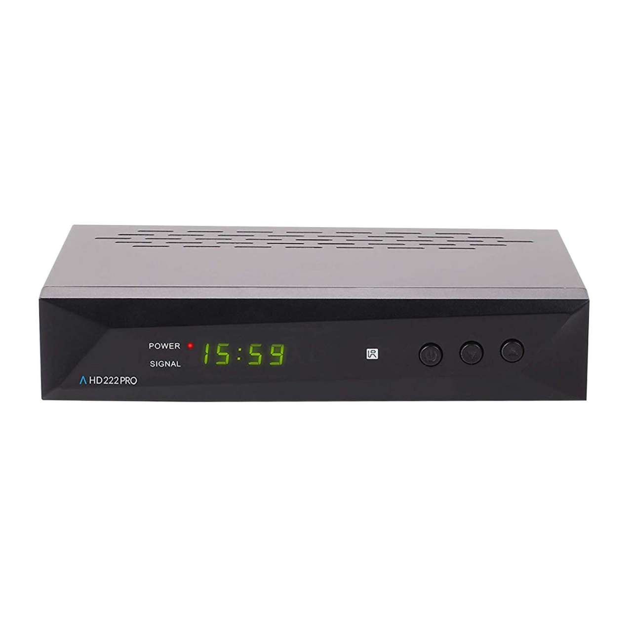 Anadol HD 222 Pro Full HD 1080p HDMI USB Scart Sat Receiver Schwarz RECANA012