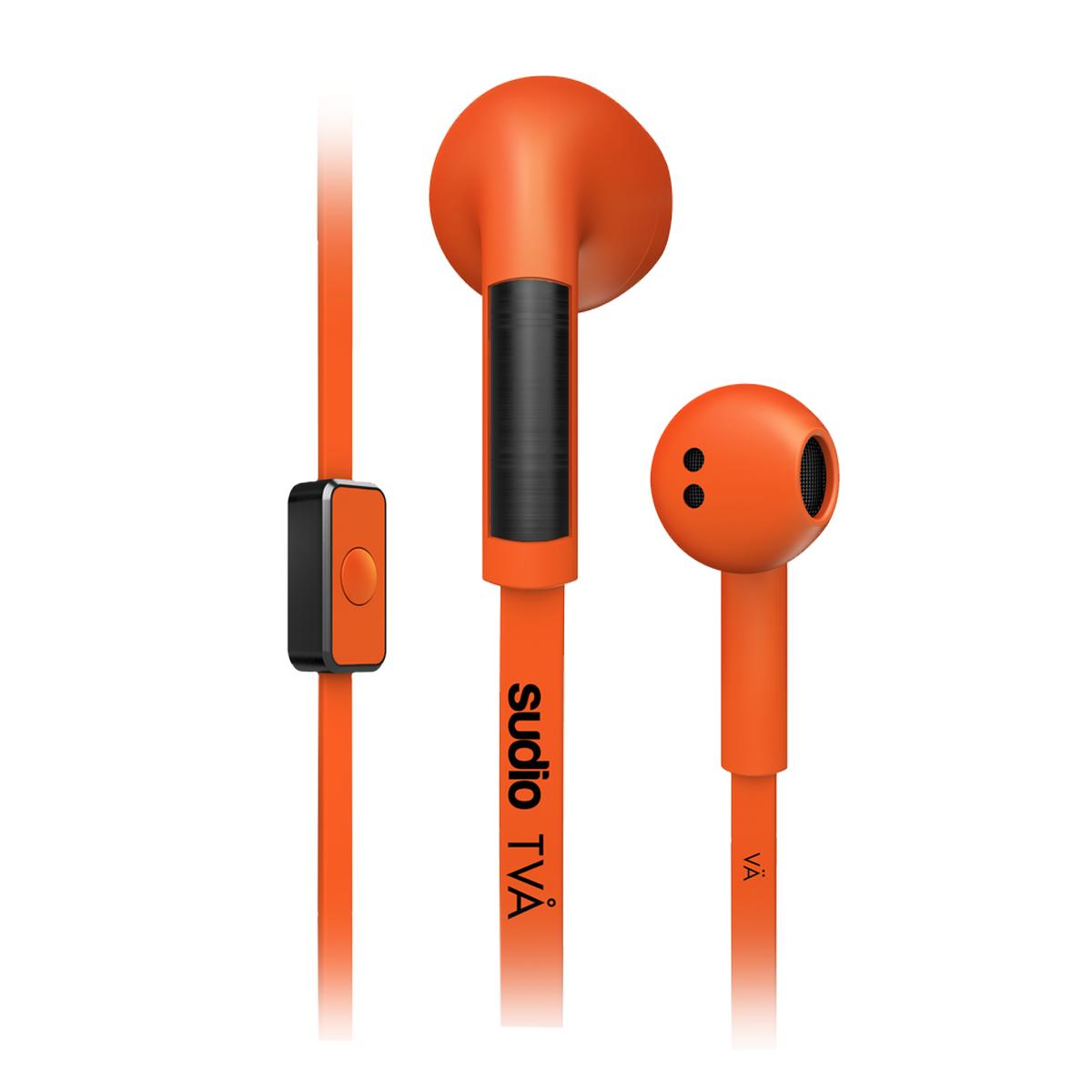 Sudio TVÅ In Ear Kopfhörer Orange SOUHEA145