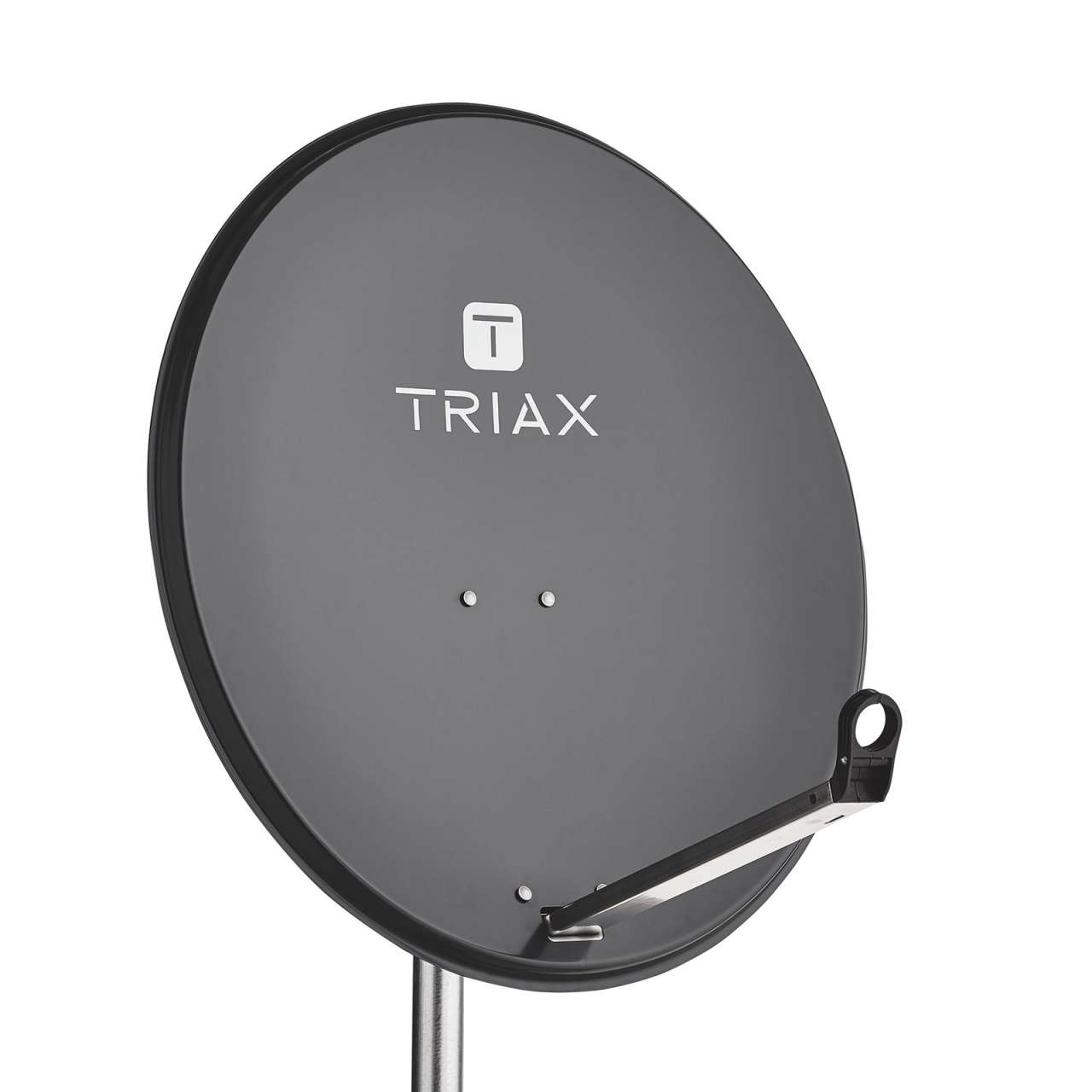 TRIAX TDS 80A Sat Antenne Stahl 80cm Anthrazit Satelliten Spiegel RAL 7016 ANTTRIA03