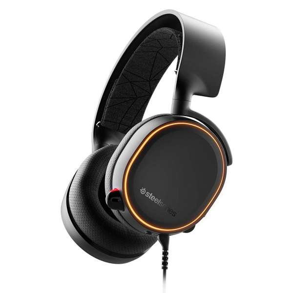 Arctis 5 2019 Edition Gaming-Headset RGB Beleuchtung DTS Headphone:X v2.0 PC MAC Schwarz
