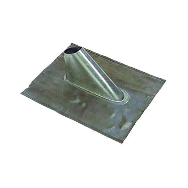 A.S.SAT Dachpfanne Dachziegel 400 x 370 mm Formbar Blei MONWAN-005