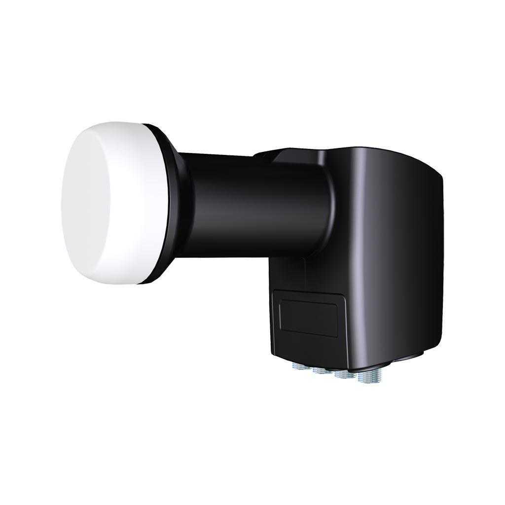 Inverto Black Pro IDLB-QUDL40 Quad + Ter. LNB 0.2dB LNBQUA-022