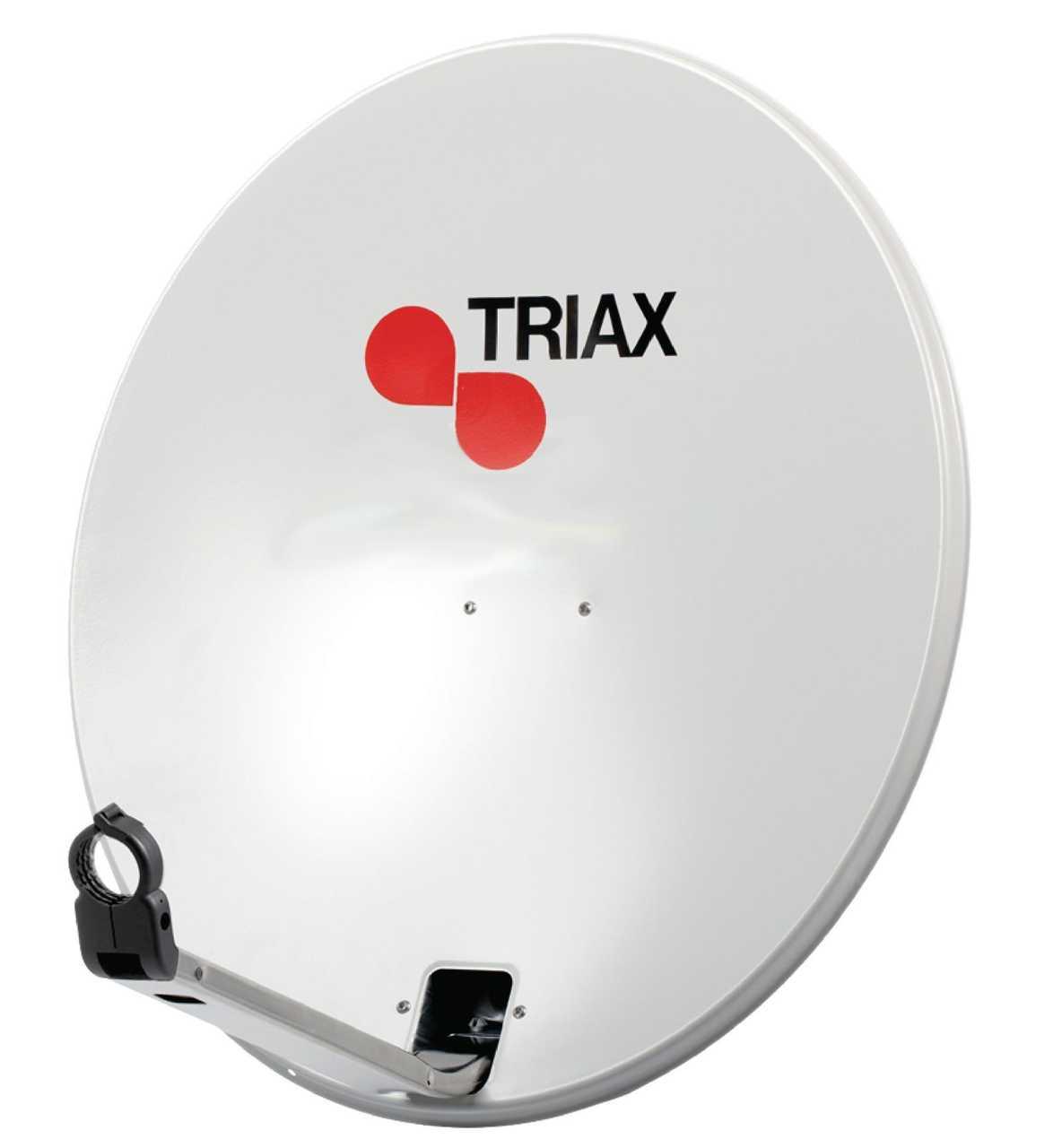 TRIAX TDS 110 Antenne Stahl 110cm Hellgrau MONANT-083