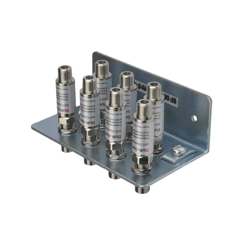 Dur-Line DLBS 3001 Erdungsschiene 7-fach + 7 x Blitzschutz MONSON-084