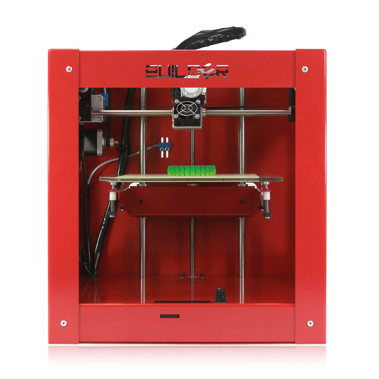 Code-P West 3D Printer Builder Dual-Feed FDM 0.1mm 3D Drucker max. Baugröße 220 x 210 x 164 mm DRUBUI01