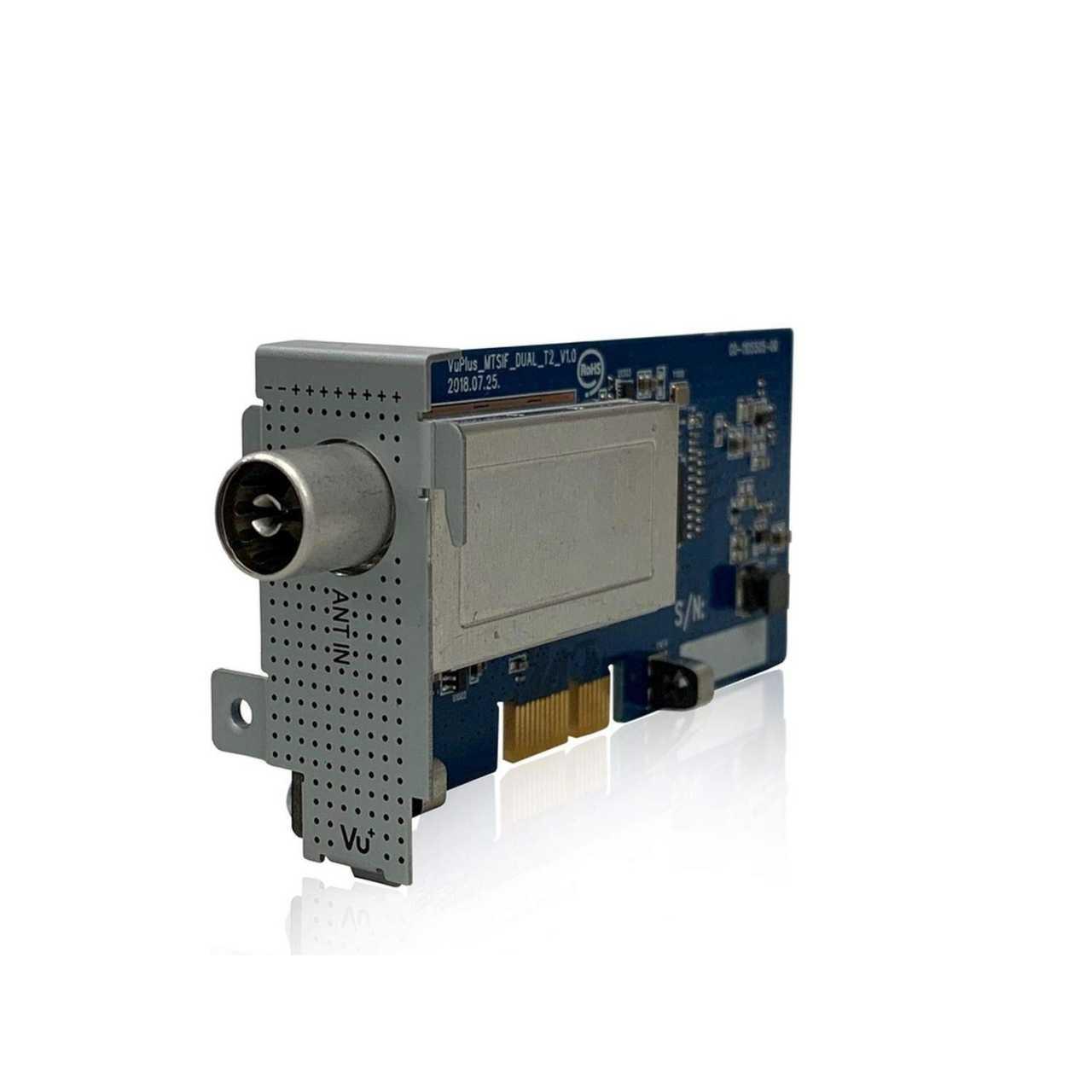 VU+ DVB-T2 HD Dual H.265 Tuner für Uno 4K - Uno 4K SE - Ultimo 4K - Duo 4K VUPZUB016