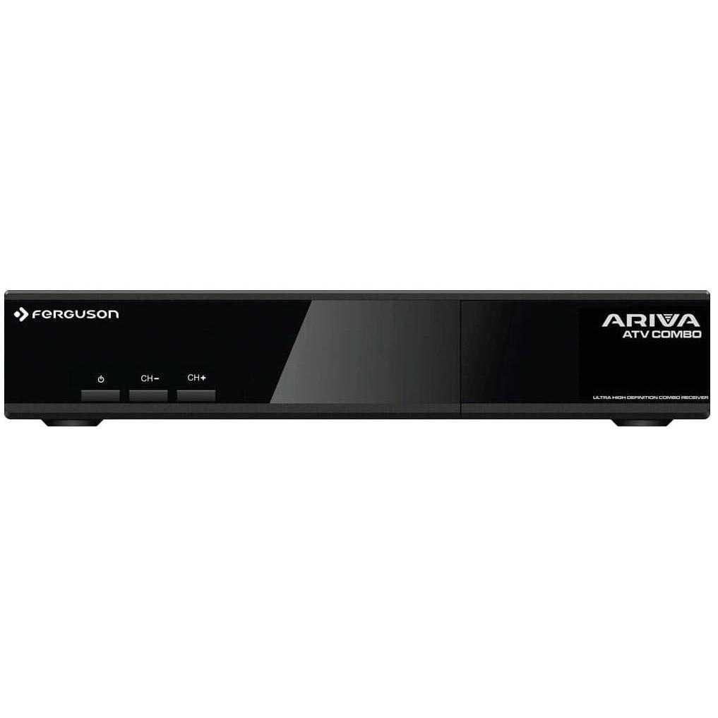 Ferguson Ariva ATV Combo Android TV 8.0 4K UHD DVB-S2/T2 5GHz Wifi Bluetooth Receiver RECFER070