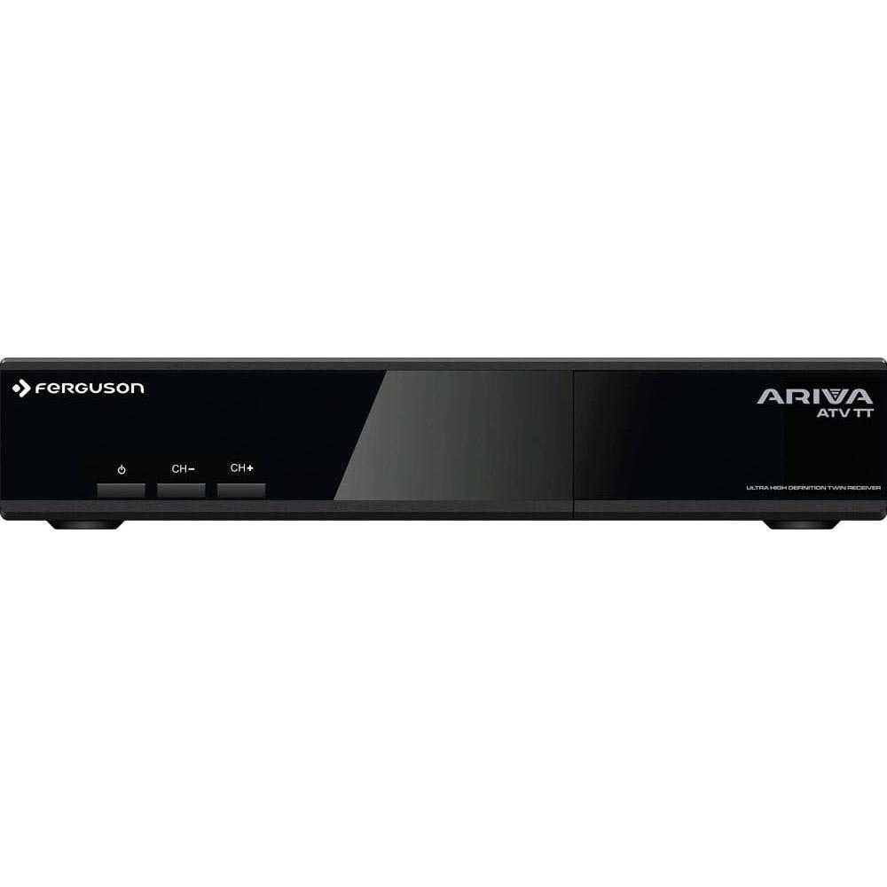 Ferguson Ariva ATV TT Android TV 8.0 4K UHD Twin DVB-S2 5GHz Wifi Bluetooth Receiver RECFER069