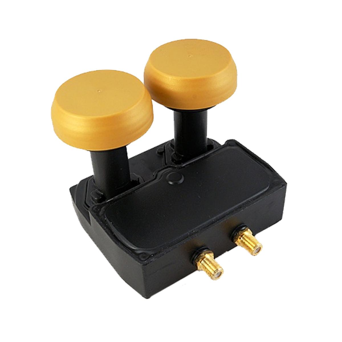 Microelectronic Micro New Gold Edition Monoblock Twin LNB 0.1dB 3D HD LNBMON-043