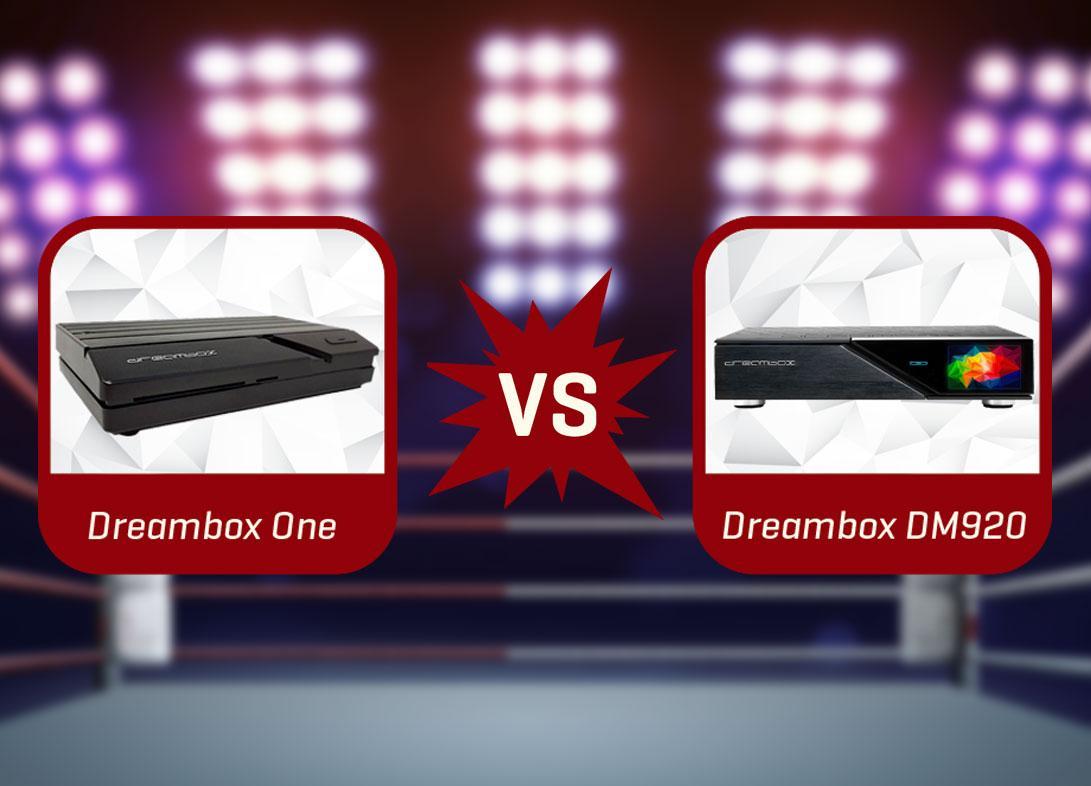 Dreambox One & DM920 im Vergleich - Die 8 Unterschiede ++