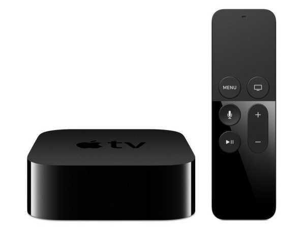 TV 4. Generation 64GB A8 HDMI WLAN Schwarz Siri Remote Fernbedienung