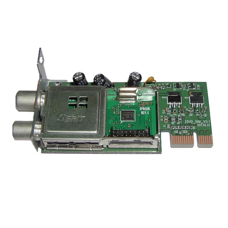 GigaBlue DVB-C/T2 Single Hybrid Tuner für Ultra UE, X3, X3.H, Quad Plus RECGIG-014