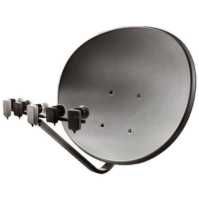 Maximum T 85 E85 Multifocus Multifeed Antenne Sat Schüssel Anthrazit MONANT-006