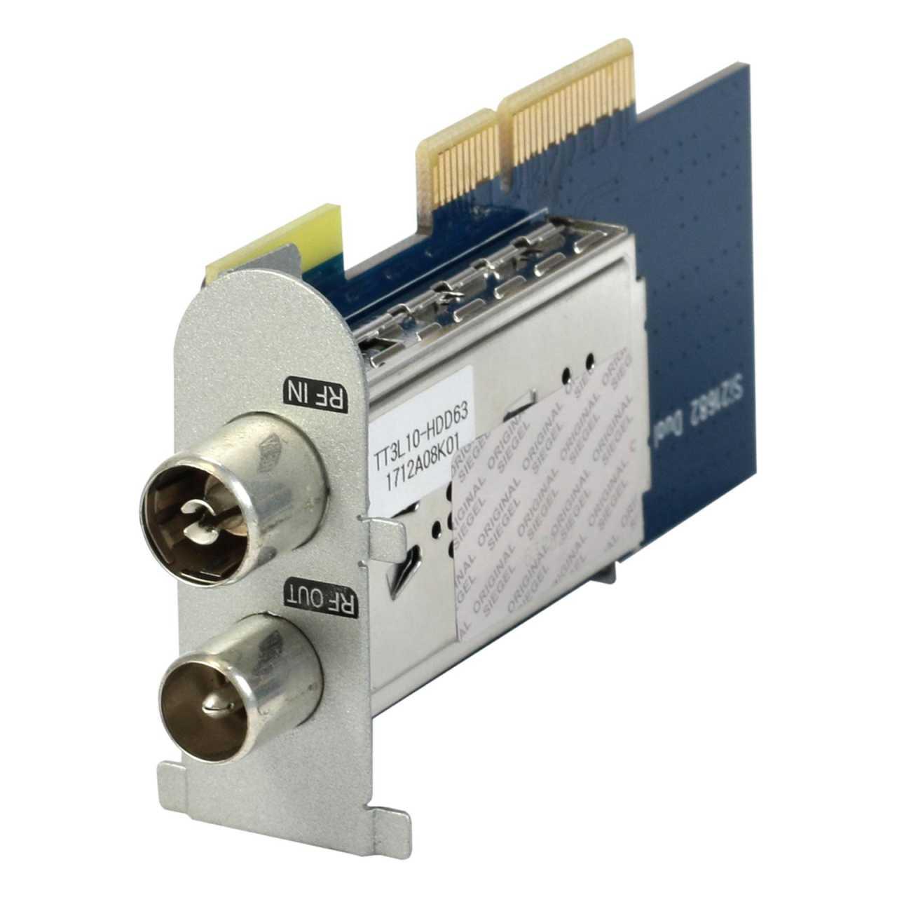 Protek Dual-DVB-C/T2 Hybrid HEVC H.265 Tuner für Protek 4K UHD Receiver PROZUB006